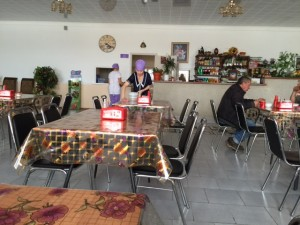 Kazakhstan restaurant interior