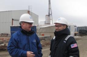 Graham Potts in Kazakhstan